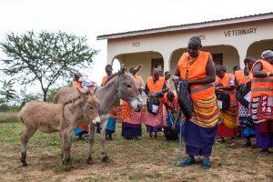 Community training in Tanzania